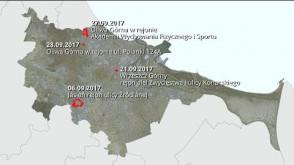 Projekty planów zagospodarowania przestrzennego wyłożone do wglądu. Wrzesień 2017