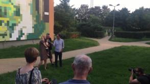 Prezentacja nowego muralu - Memling - 31.8.2017
