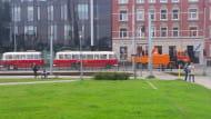 Awaria zabytkowych autobusów w Gdańsku