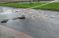 Potok na ul. Kwiatkowskiego w Gdyni