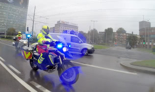 Zlot i kongres motocykli ratunkowych w  Gdańsku