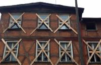 Stary budynek na Siedlcach do rozbiórki