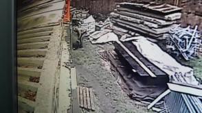 Złodziej na budowie przy ul. Kotwiczników