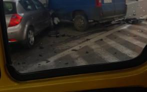 Wypadek na zjeździe Kowale