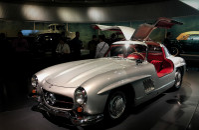 Z wizytą w muzeum Mercedesa
