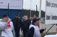 Pikieta w DCT Gdańsk