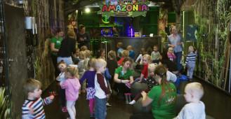Amazonia - nowa sala zabaw w Gdyni