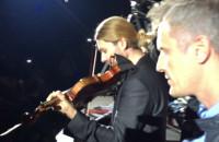 David Garrett wchodzi na koncert przez publiczność