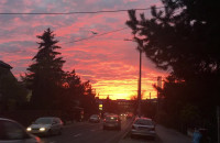 Płonące niebo nad Moreną