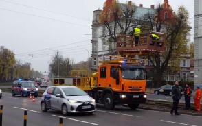 Poranny paraliż w ruchu tramwajów we Wrzeszczu