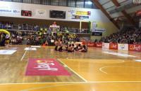 Cheerleaders Flex na meczu koszykarzy Trefla
