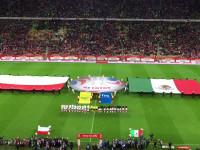Prezentacja piłkarzy i hymn Meksyku