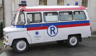Nysa 522 S - kultowy ambulans PRLu