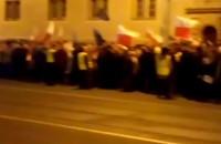 Zgromadzenie przed sądem w Gdańsku