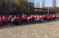 Mikołaje na motocyklach - przygotowani do startu