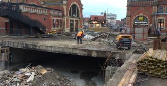 Remont tunelu przy dworcu w Gdańsku