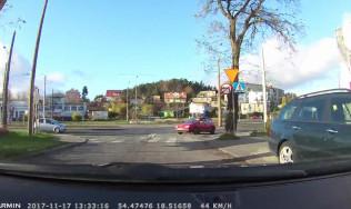 Mistrz kierownicy jedzie pod prąd
