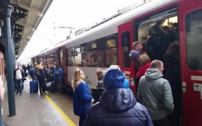 Skład pociągu a ilość ludzi