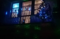 Świąteczne lampki w Sopocie