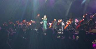 Krystyna Prońko podczas gali Strauss i przyjaciele w Gdynia Arenie