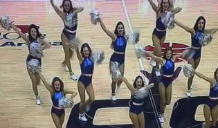 Cheerleaders Gdynia w NBA