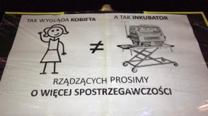 Gdyński protest ws. praw kobiet
