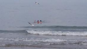 Idealna pogoda na kąpiel w morzu