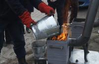 Straż Miejska uczy jak rozpalać w piecu