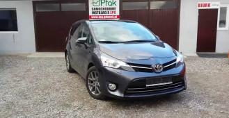 Toyota Corolla Verso 2014 1.8 lpg instalacja gazowa Lovato Gdańsk Słupsk Ptak