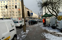 Wyłączone światła i chaos na skrzyżowaniu przy UM Gdyni