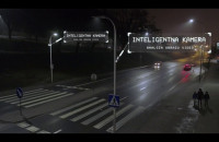 Inteligentne przejście dla pieszych w Gdańsku