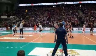 Piłka meczowa meczu Trefl Gdańsk - Asseco resovia