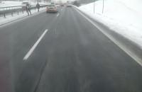Dużo zatrzymanych aut na s6 w stronę Gdyni