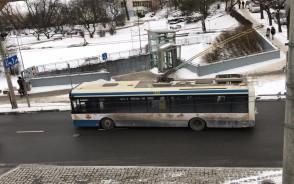 Krótkie utrudnienia na Świętojańskiej przez problemy z trolejbusem