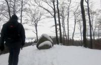 Zimowa wędrówka przez wzgórza Północnych Kaszub