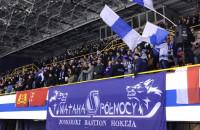 Radość kibiców MH Automatyki Gdańsk po golu