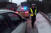 Dzień z patrolem policji - nieoznakowane BMW