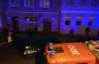 Pożar kamienicy w centrum Gdańska