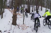Extremalny trening MTB w lesie