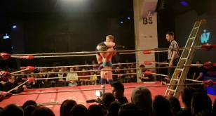 Wrestling na festiwalu Szlamfest w B90