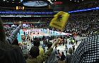 Tłumy młodych kibiców na meczu siatkarzy