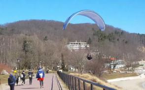 Paralotniarz w Orłowie