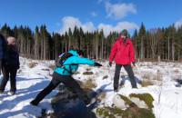 Zimowy Kompas Wikingów na trasie pieszej