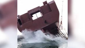 Wodowanie w stoczni Remontowa Shipbuilding