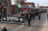 Manifestacja ONR-u na ulicach Gdańska