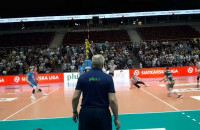 Piłka meczowa Trefl Gdańsk - Łuczniczka Bydgoszcz