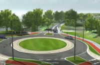Wizualizacja Mostu w Sobieszewie