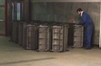 Wymiana ruchomych schodów w tunelu pod dworcem w Gdańsku