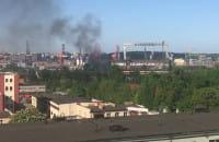 Pożar przy Janka Wiśniewskiego