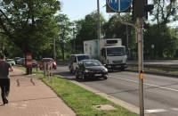 Awaria ciężarówki-lewy pas al. Zwycięstwa Gdynia